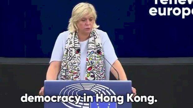 歐洲議員批中國扼殺香港民主 台灣是下個目標