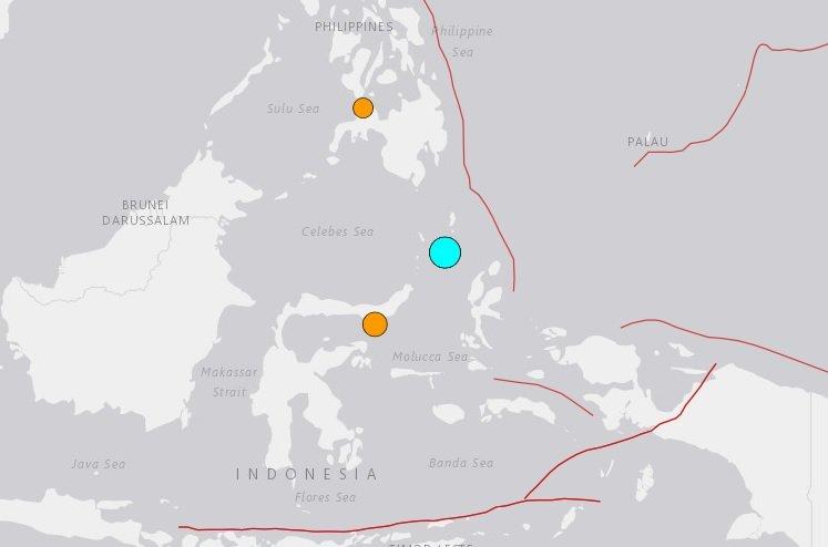 印尼蘇拉威西6.1強震 未發佈海嘯警報