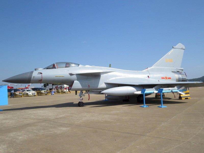 中國殲10C戰機 巴基斯坦傳年底可獲36架