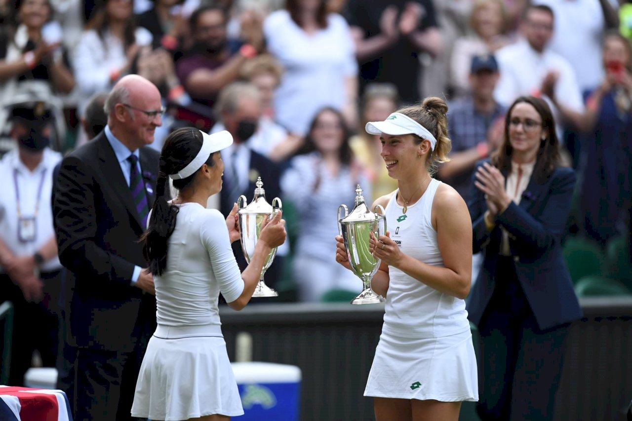 捷報!謝淑薇衛冕成功奪溫網女雙后冠 可望下周重返雙打排名世界第一