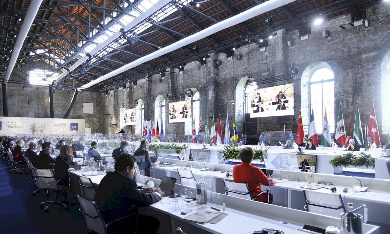 G20財長警告:COVID-19變異病毒株威脅全球經濟復甦