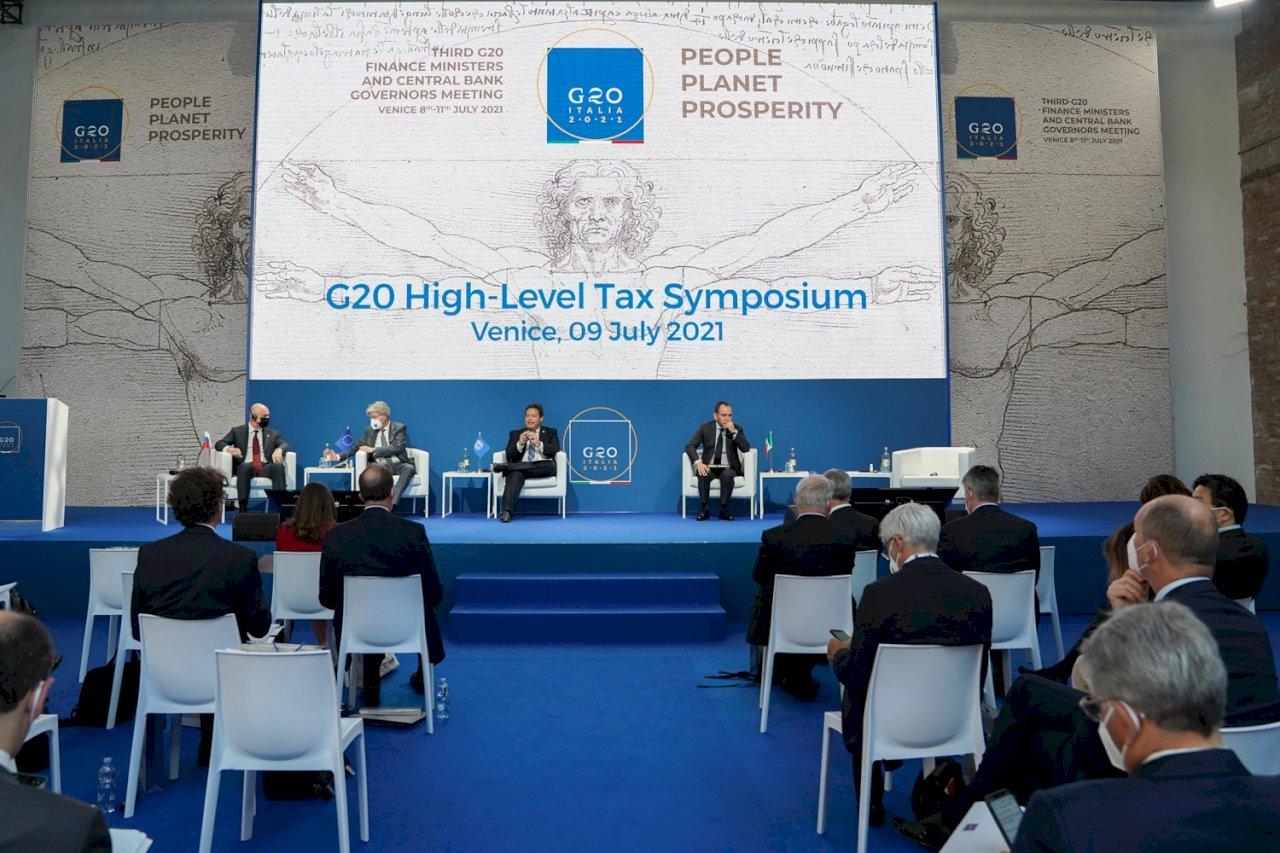 G20支持全球最低企業稅 拚10月達成最終協議