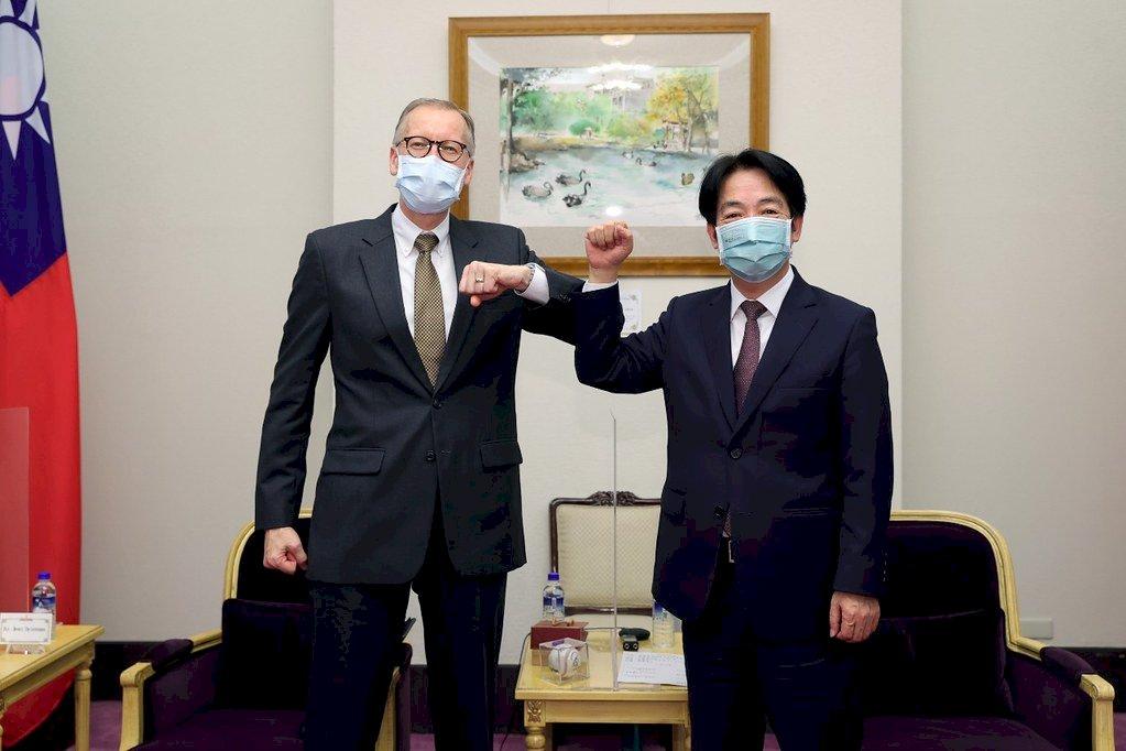 賴清德感謝酈英傑對台美關係重大貢獻 盼持續支持台灣