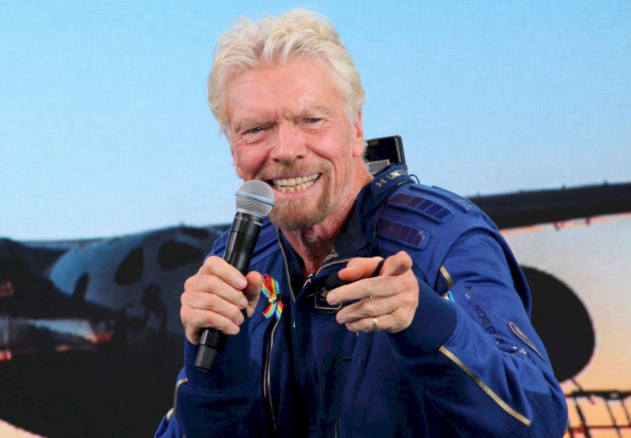 從地球到太空 維京富豪布蘭森挑戰人生無窮疆界