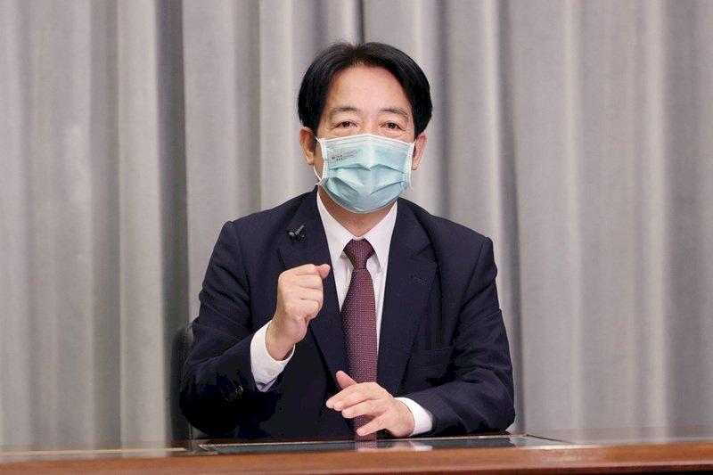 賴清德:台灣將盤點生技產業優劣勢 為下次危機做準備