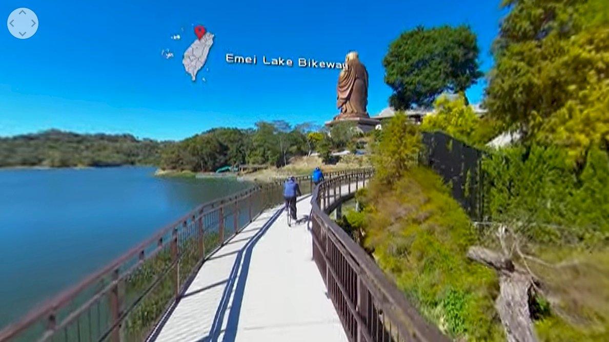 觀光局推VR影片  介紹台灣自行車道風光