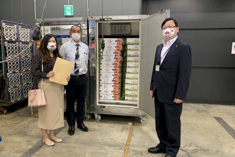 感謝日本贈疫苗 台南空運愛文芒果回贈