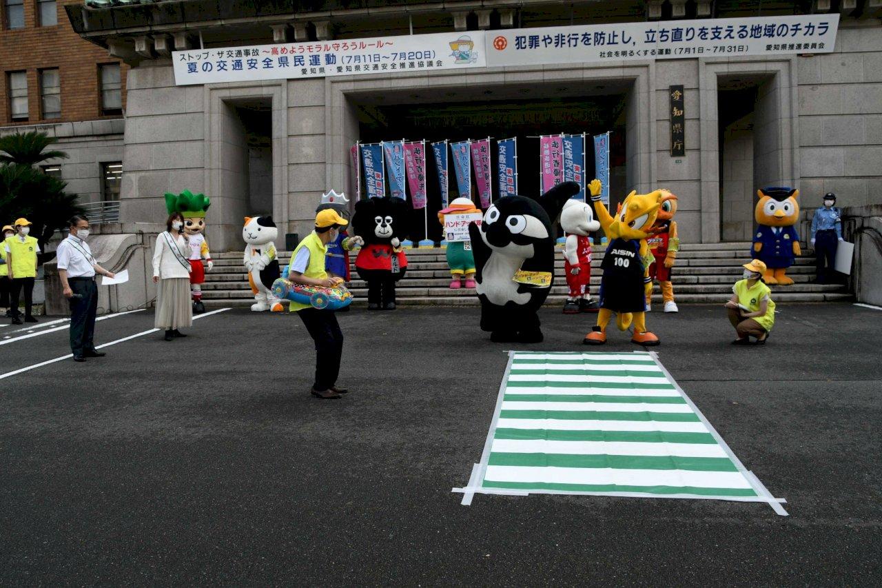 行人死亡率偏高 日本時隔43年再宣導舉手過馬路