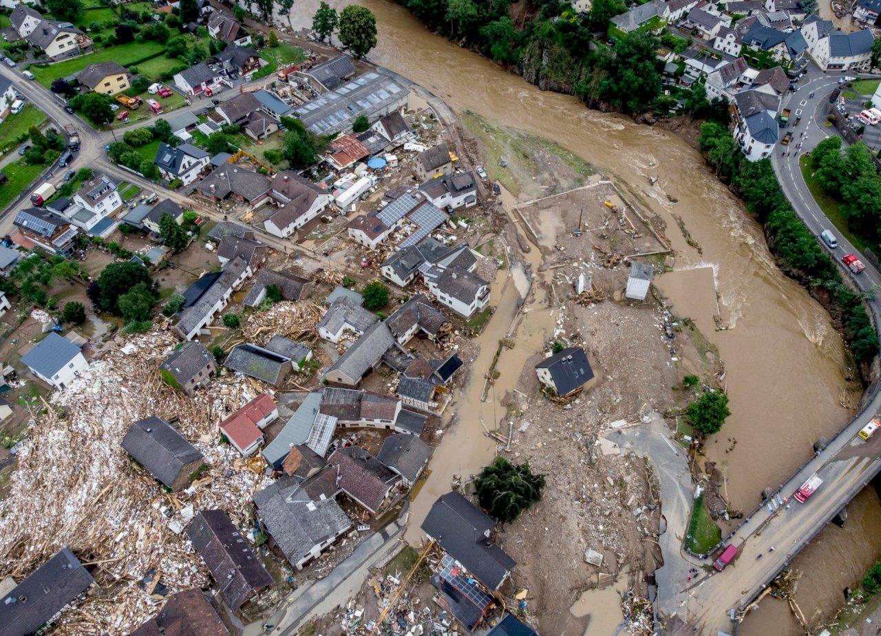 氣候變遷 歐洲洪水將更頻繁更猛烈