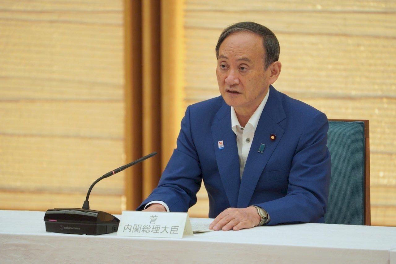 菅義偉:有意參選自民黨總裁