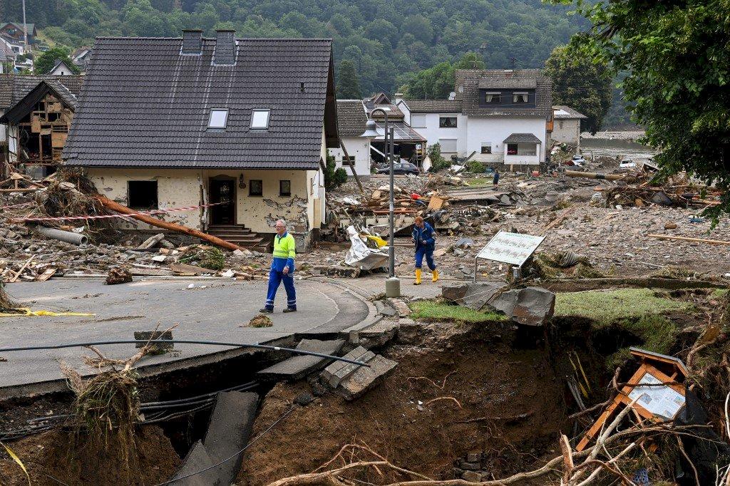 西歐百年最大暴雨 已知逾120死、最少1300人失聯