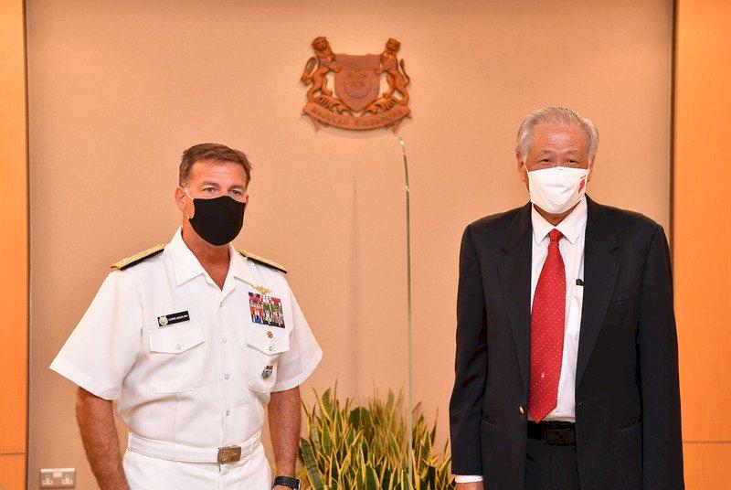 美印太司令訪新加坡 討論加強兩國互信與合作