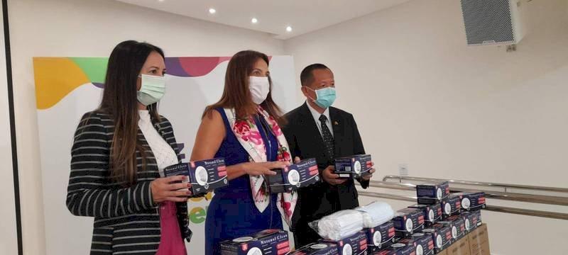 台灣發揮同舟共濟精神 再贈巴西戈亞斯州口罩