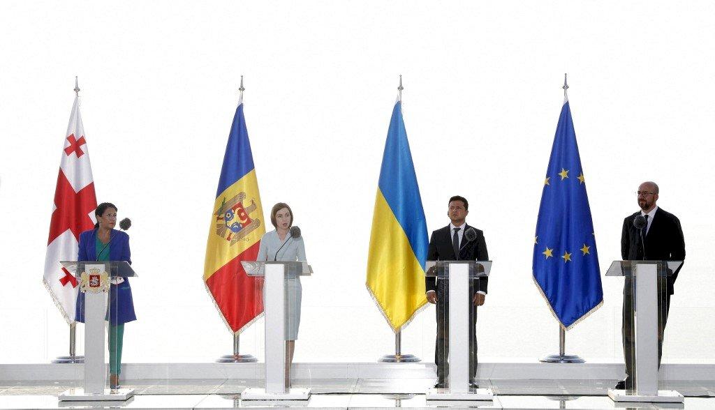 推進入會進程 喬摩烏3國與歐盟舉行高峰會