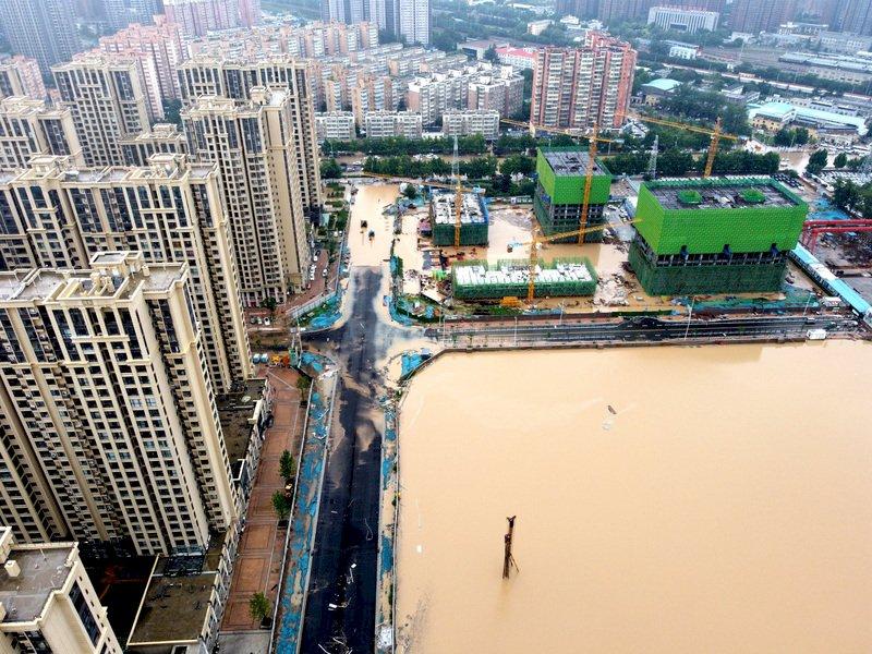 鄭州暴雨致災 媒體人發文籲換市委書記遭下架