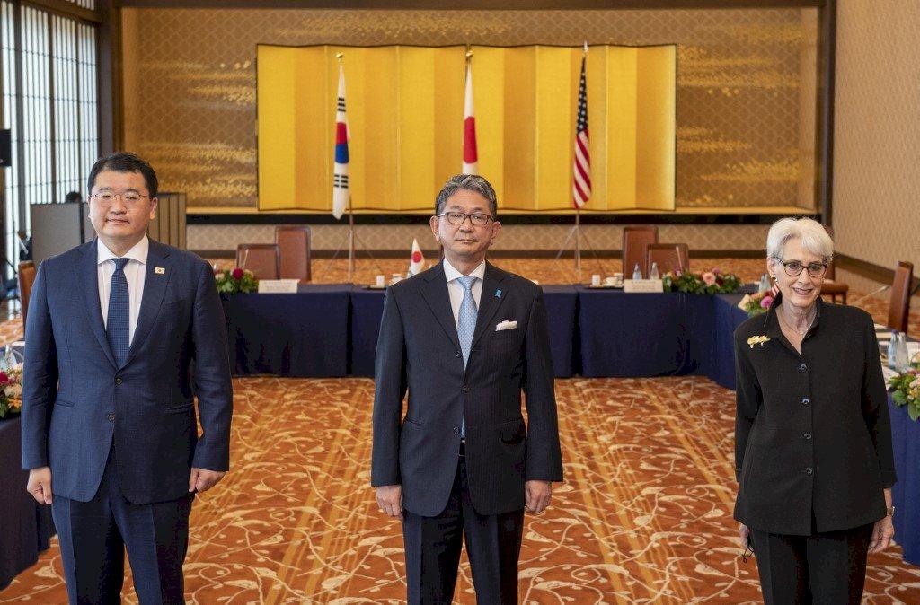 美副卿雪蔓亞洲行 美日韓同意深化氣候變遷與防疫合作