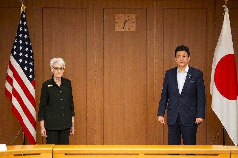 美副國務卿會日防長 再提台海和平穩定重要性
