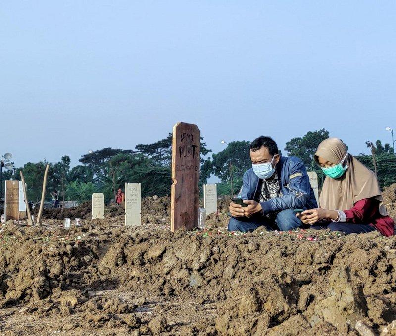 印尼月增百萬人染疫 過去9天逾萬人不治