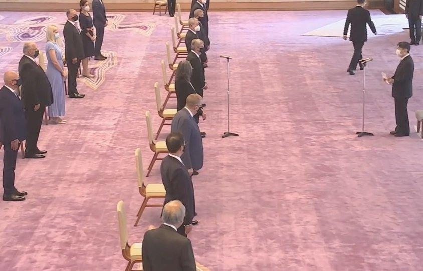 日皇德仁接見國際奧會主席 盼東奧成希望的燈火