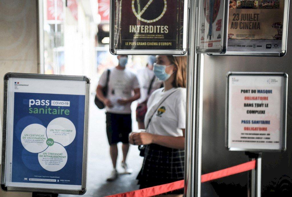 Delta病毒肆虐 法國文化場所推疫苗通行證