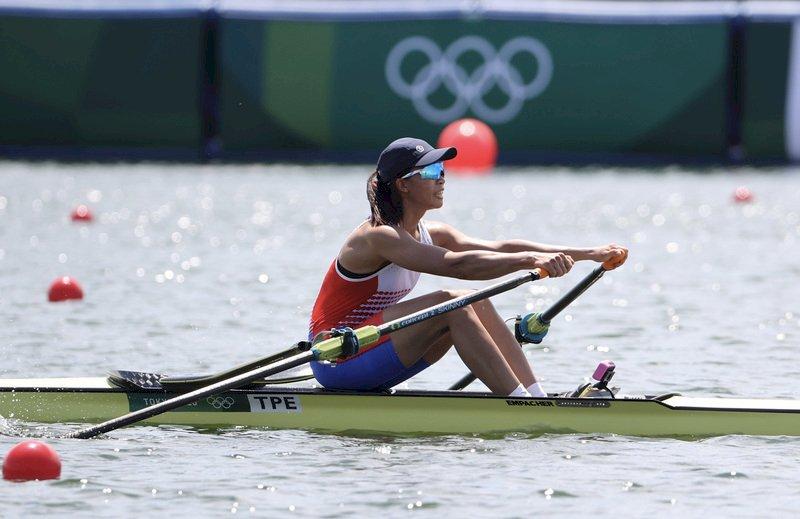東奧划船甜心黃義婷無緣12強  成績生涯最佳