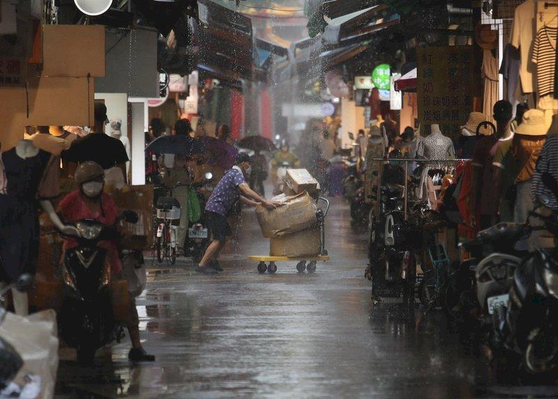 颱風烟花外圍環流影響 北台灣雨勢較明顯