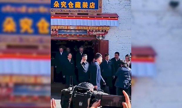 新華社證實:習近平造訪西藏