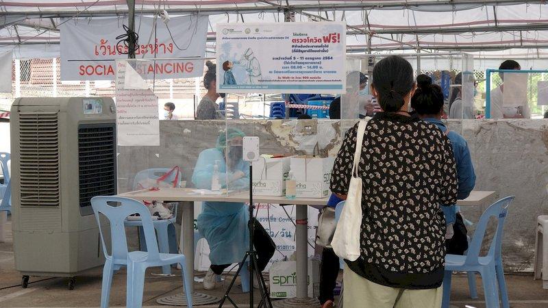 曼谷疫情延燒 專家警告已超過可控制範圍