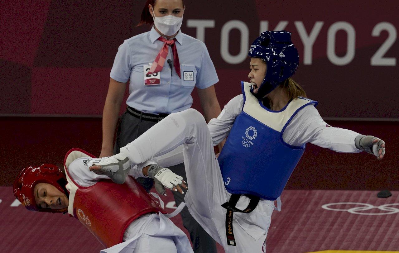 擊敗加拿大選手 羅嘉翎東京奧運跆拳道挺進4強