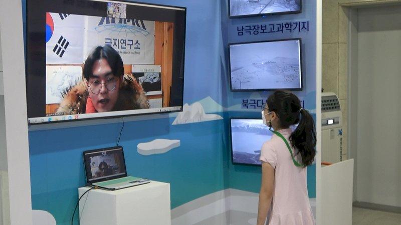 韓國各地高溫預警 極地體驗促關懷地球環境