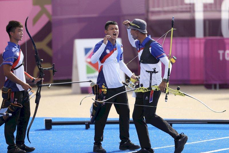 輸給南韓十分箭 台灣男子射箭團體睽違17年奧運再鍍銀