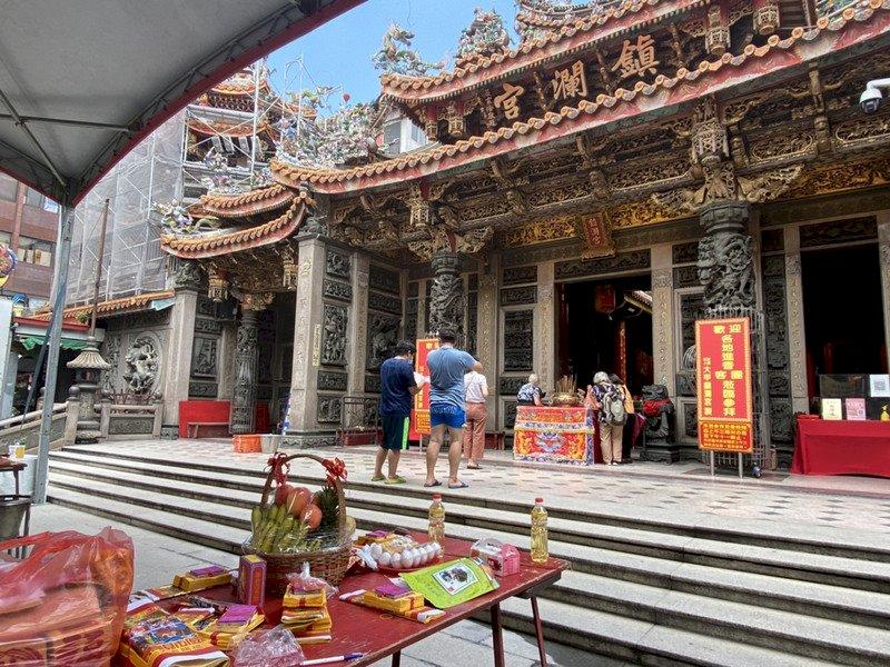 信仰反應的生活史,風格獨特的廟宇建築在臺灣
