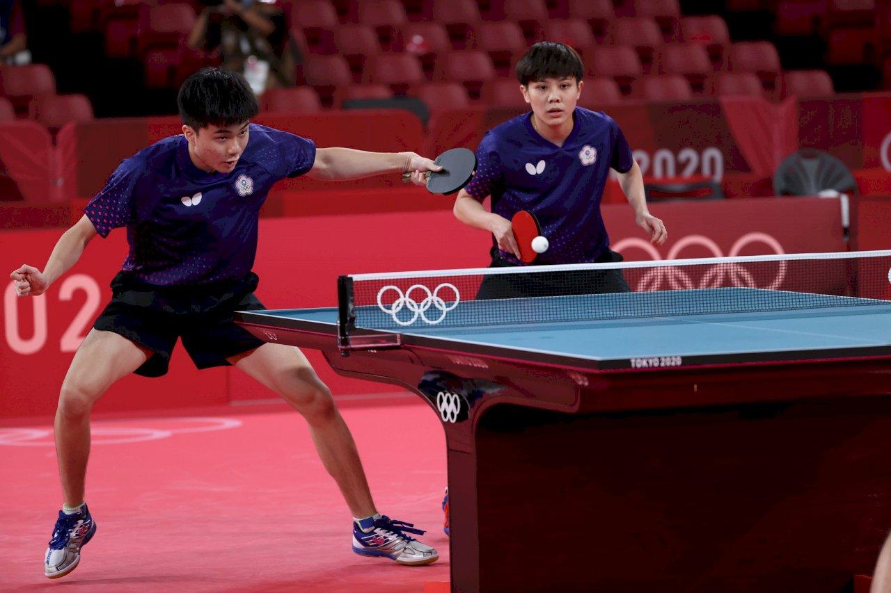 終結21年獎牌荒!鄭怡靜、林昀儒東奧桌球混雙摘銅