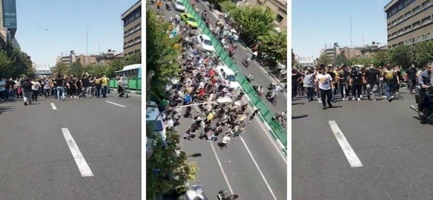 不滿老是停電 德黑蘭示威民眾喊岀政治口號