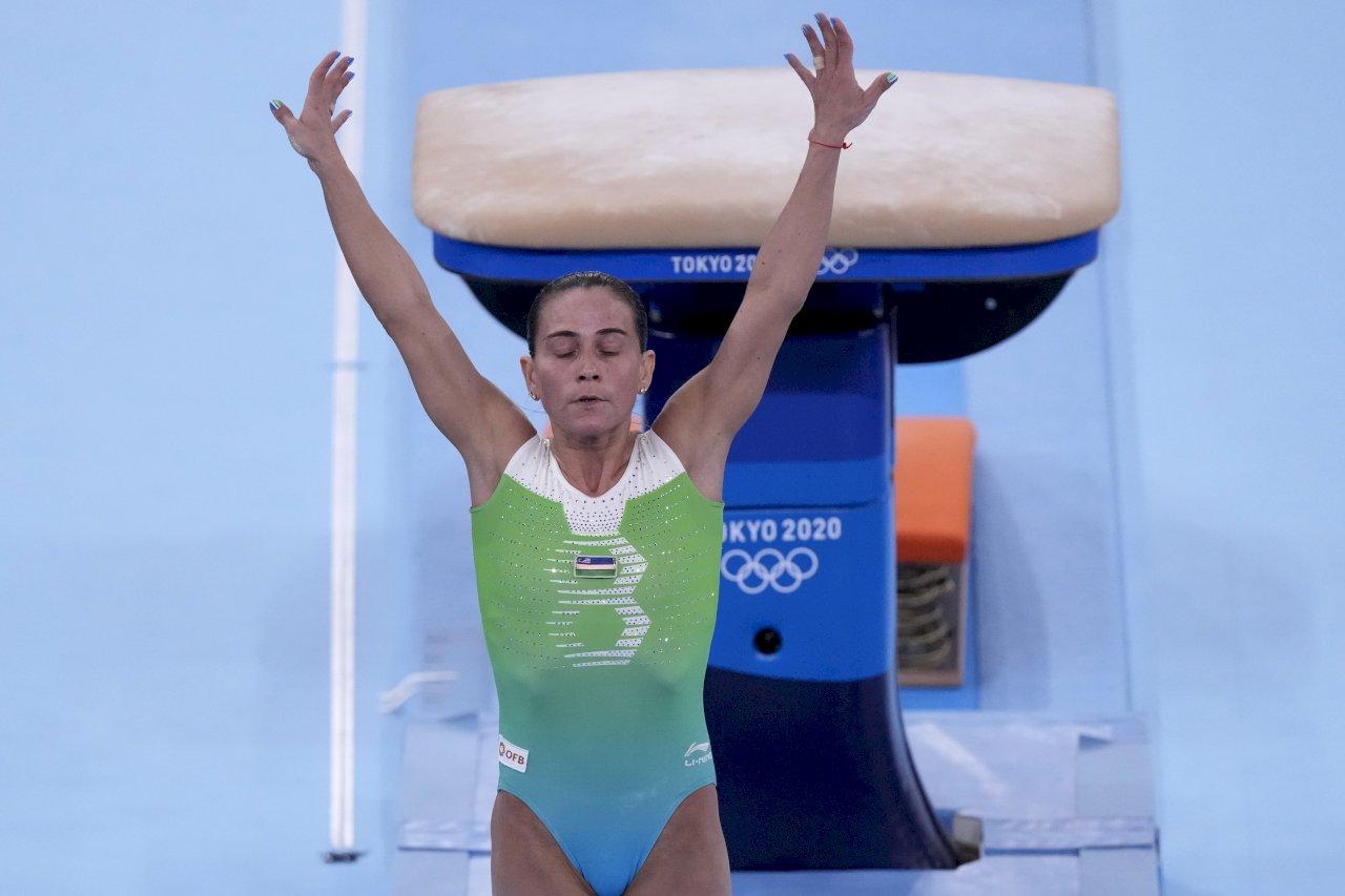 8度參賽! 烏茲別克體操女將含淚告別最後一屆奧運