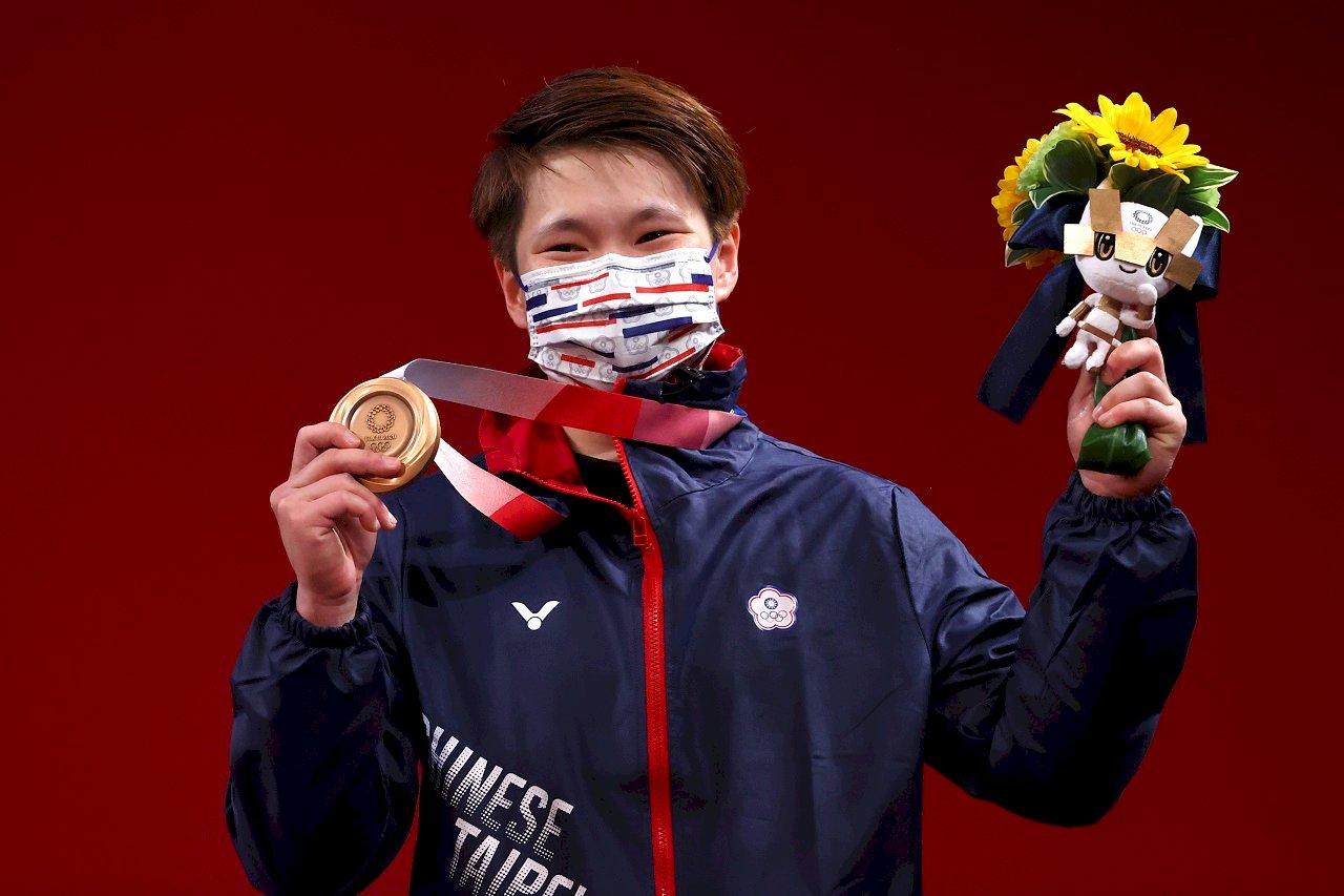 我舉重好手陳玟卉奪銅   為台灣添東奧第6面獎牌
