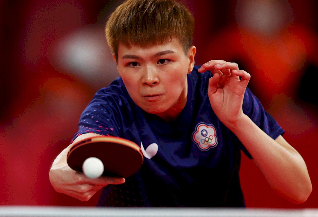 桌球女將陳思羽東奧女單  止步16強