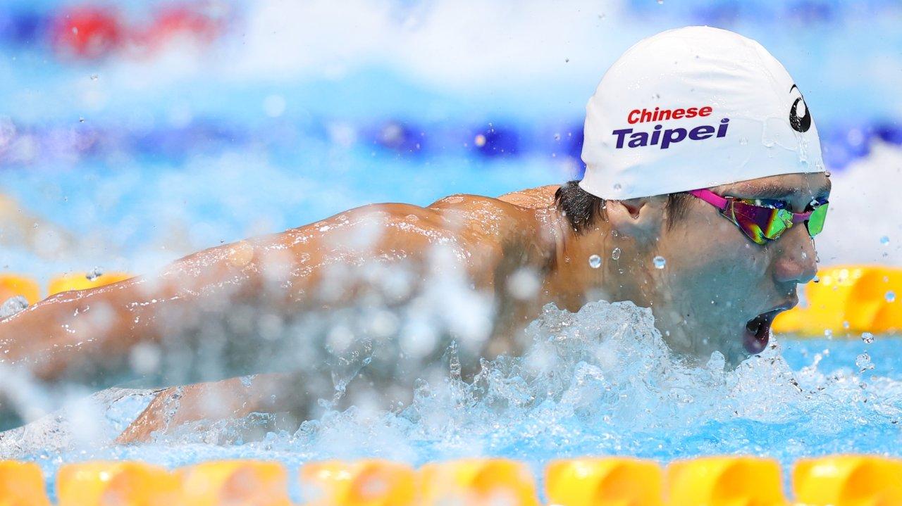 預賽游出52秒44   王冠閎100公尺蝶式無緣16強