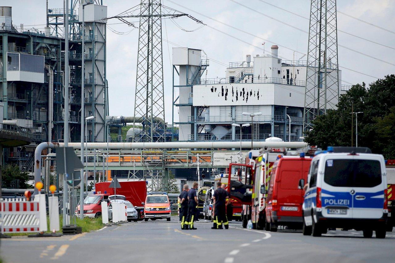 德國西部化工園區爆炸 5人失蹤、多人受傷