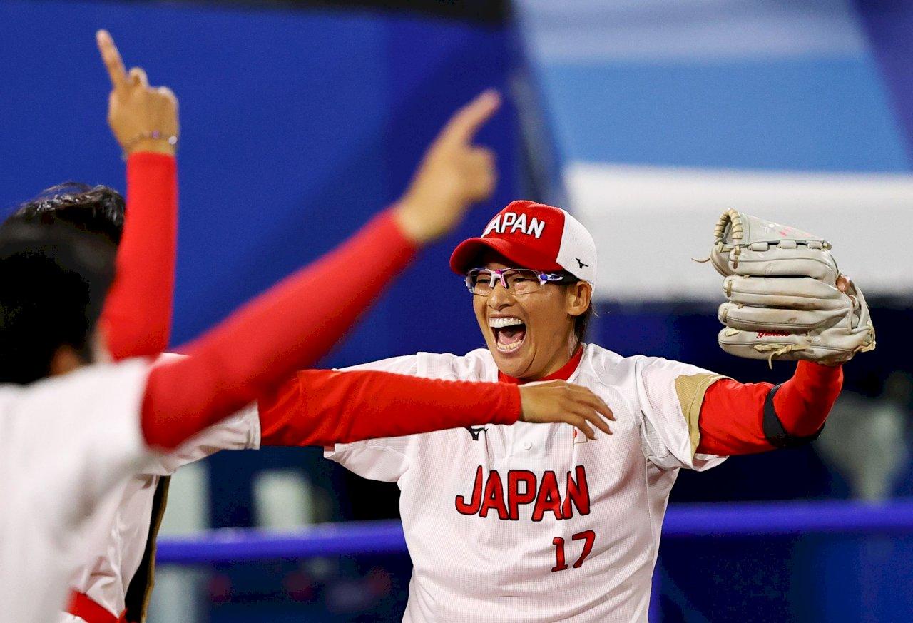 壘球13年後重返奧運 日本力克勁敵美國奪金
