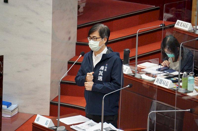 疫情隨時變化  陳其邁:國慶焰火備案是網路直播