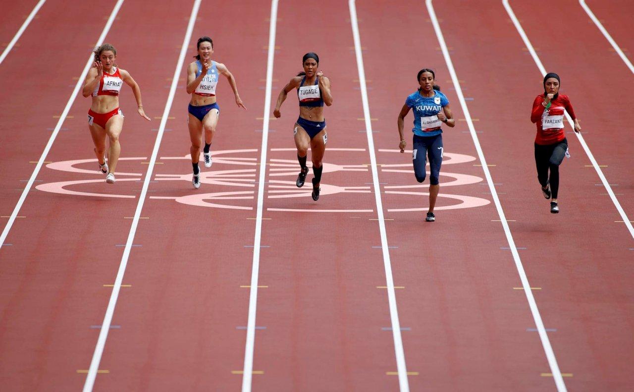 東京奧運田徑女子100公尺 謝喜恩無緣晉級