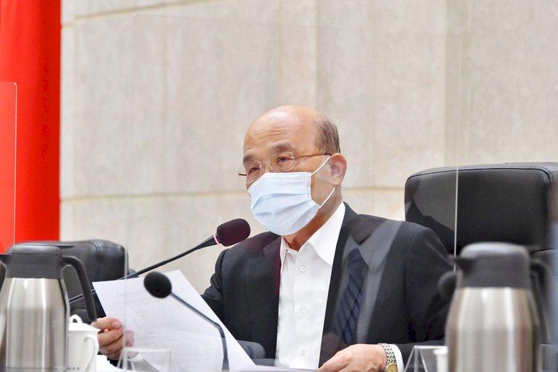 因應盧碧颱風 蘇貞昌:防汛熱點預先設置抽水機