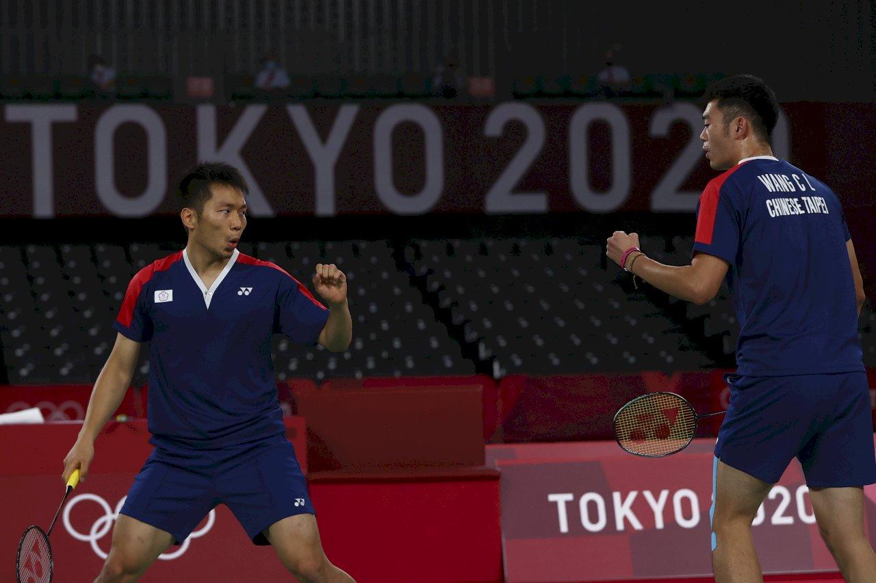 讚!黃金羽球男雙「麟洋配」發威力克印尼 明搶奧運史上首金