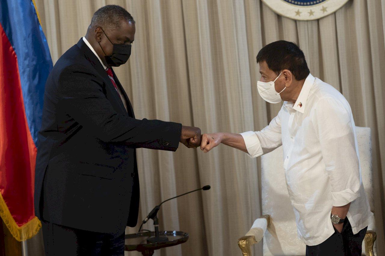 菲律賓全面恢復與美國軍隊互訪協定