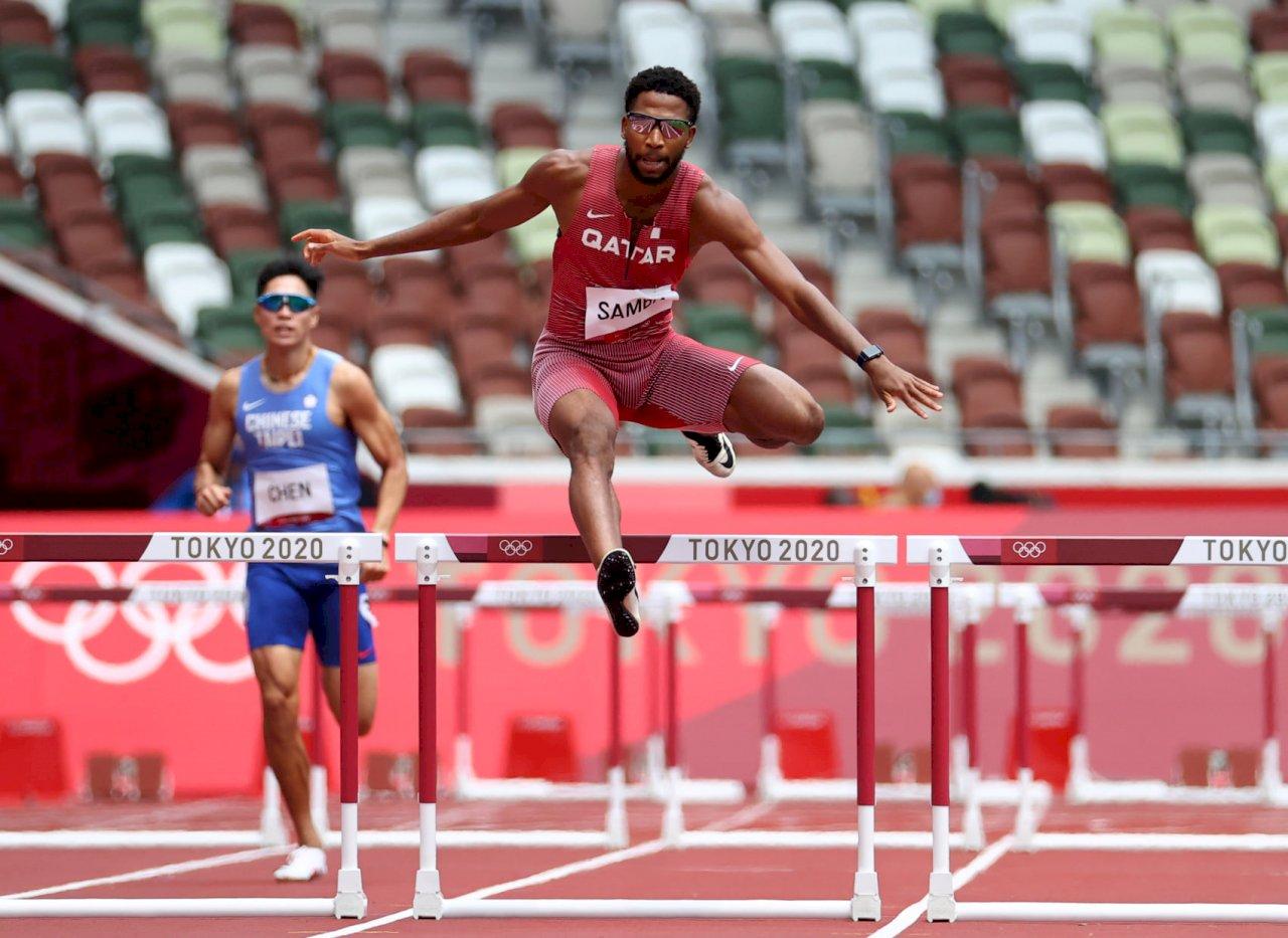 三屆奧運元老陳傑跑出50秒96  400公尺跨欄未能晉級
