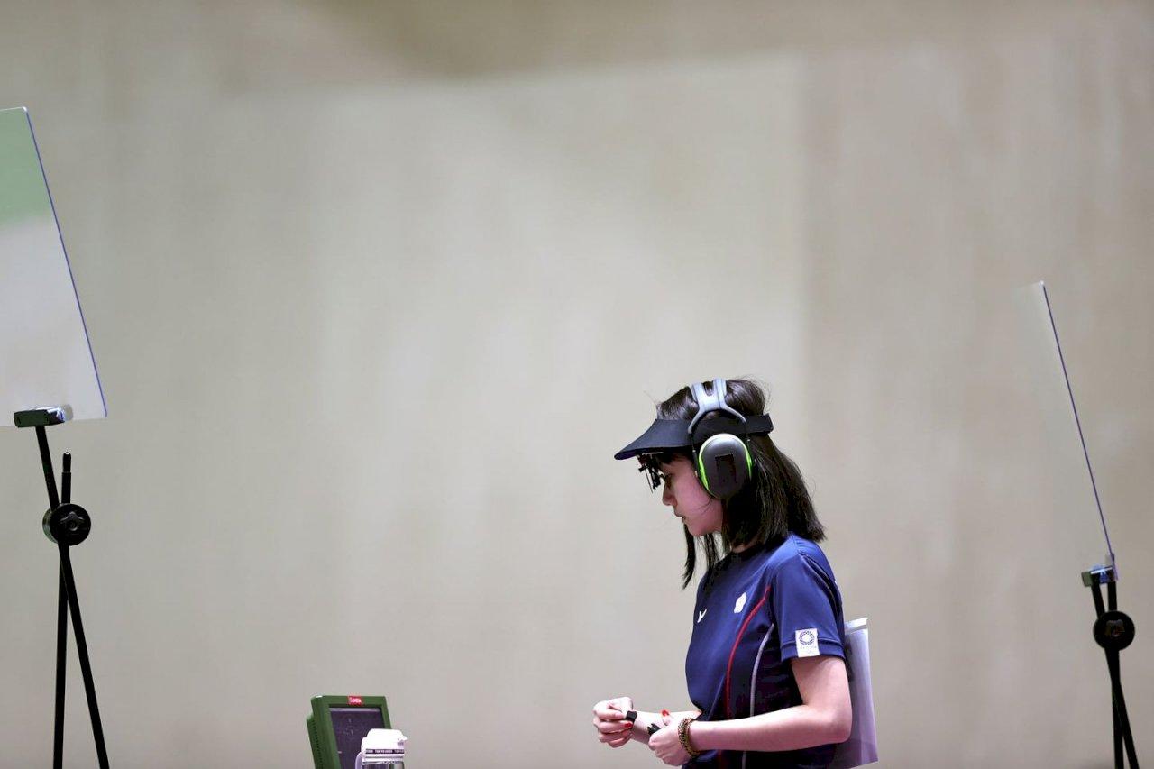 吳佳穎、田家榛女子25公尺手槍晉級8強   下午搶奧運獎牌
