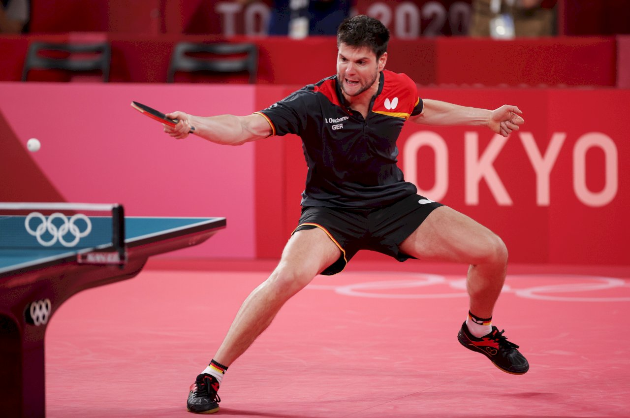 東奧桌球男單台德爭銅牌 足球名將穆勒為奧恰洛夫助陣