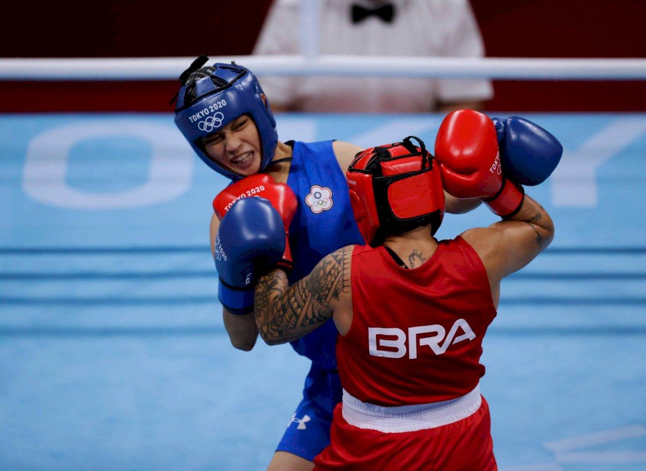 女拳擊手吳詩儀不敵巴西強敵  無緣8強