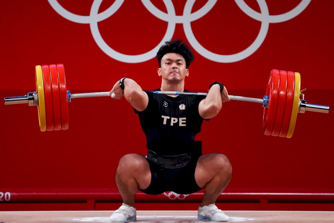 舉重陳柏任奧運排名第5  挺舉、總和破全國紀錄